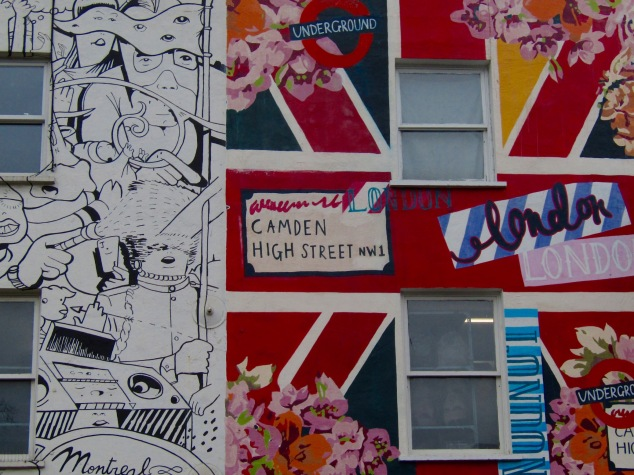 Camden High Street offers a tourist-friendly experience of London's alternative scene.