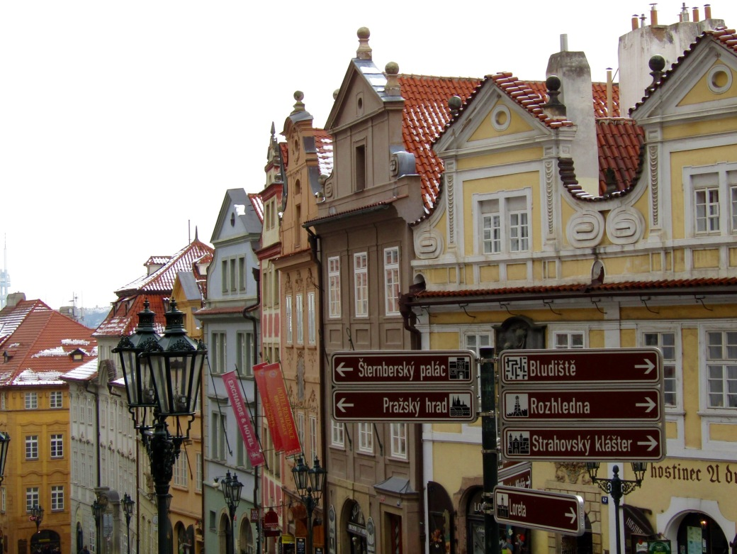 The old neighborhood of Mala Strana.