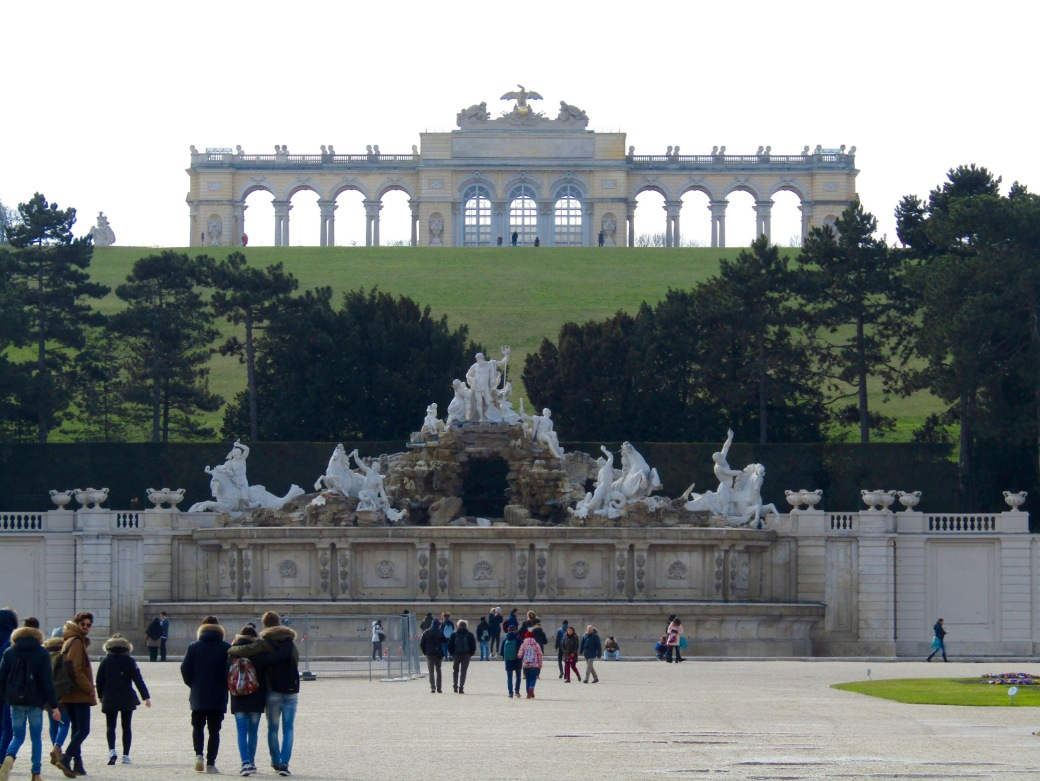The Gloriette at Schönbrunn Palace