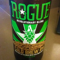 Rogue's latest collaboration with Stumptown Coffee Roasters, the Cold Brew IPA.
