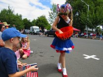 Kids are a big part of what makes the Western Days Parade a special event.
