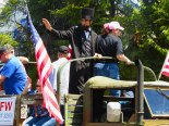 Even Abraham Lincoln turned out for the 2016 Western Days Parade.
