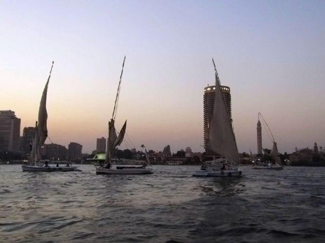 Dusk on the River Nile.