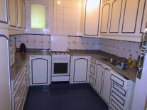 The kitchen in House 3