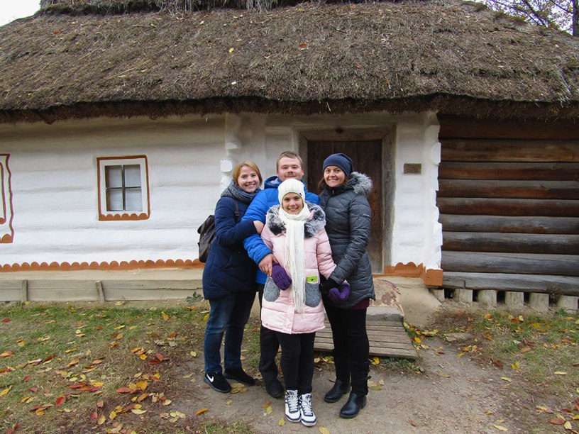 Pirogovo Open Air Museum in Ukraine