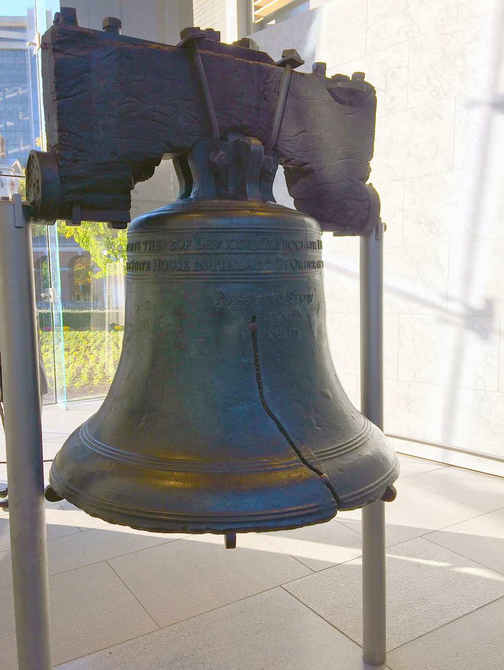 An icon of America, most stories around the Liberty Bell are more myth than fact. The truth is that the bell actually cracked during its first test strike and had to be recast twice. It was finally replaced in 1876.