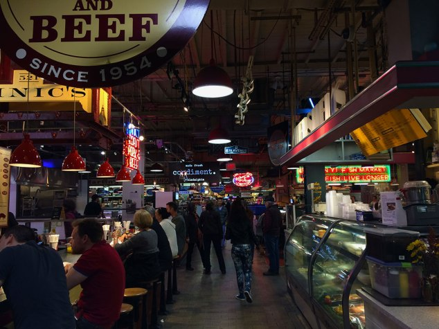 Since 1892, Reading Terminal Market has been the home to butchers, produce vendors and more. Today you can find Amish specialties and three shops run by descendants of original market vendors.